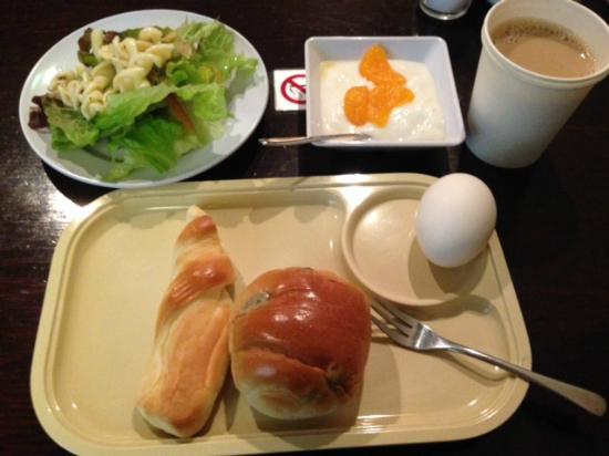 ホテル ルウエスト 名古屋, 朝食の一例