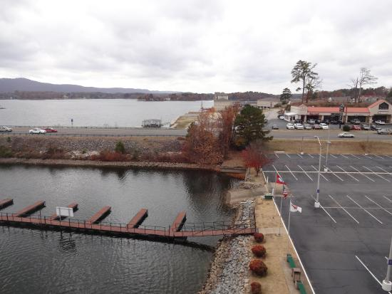 Clarion Resort on the Lake: View from the room