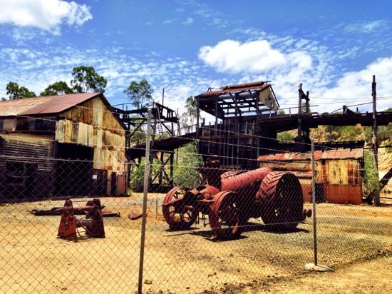 Mount Morgan, Australia: Mt Morgan Gold Mine