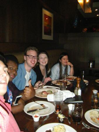 The Keg Steakhouse + Bar - Halifax : lots of empty plates!