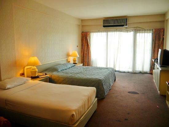 Airport Suite Bangkok: ห้องนอนฝั่งใต้