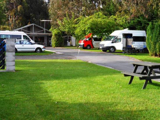 Invercargill TOP 10 Holiday Park : good protection from the wind