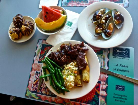 Coolangatta Tweed Heads Golf Club Dining : My choice, eat your heart out