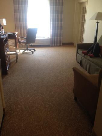 Country Inn & Suites By Carlson, Anderson: King suite with pull out couch