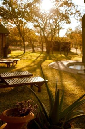 Olievenhoutsrus Guest & Game Farm: Sundowner time