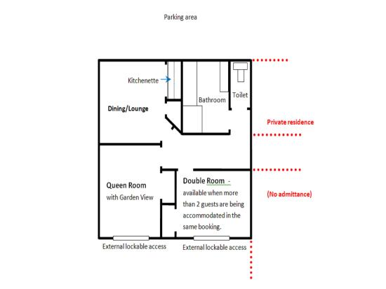 Floor plan of b b picture of silverdale bed and - Bed and breakfast design floor plans ...
