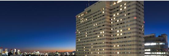 Hotel Metropolitan Tokyo Ikebukuro : 夜景外観