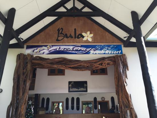 Anchorage Beach Resort : Reception area