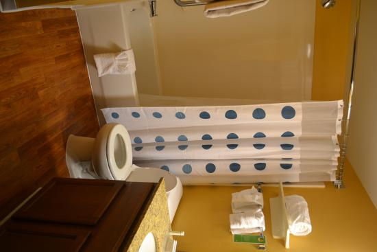 TownePlace Suites Mobile : Good size, clean bathroom