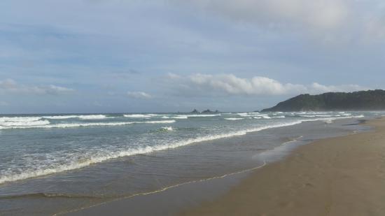 Suffolk Beachfront Holiday Park Accommodation: Beach