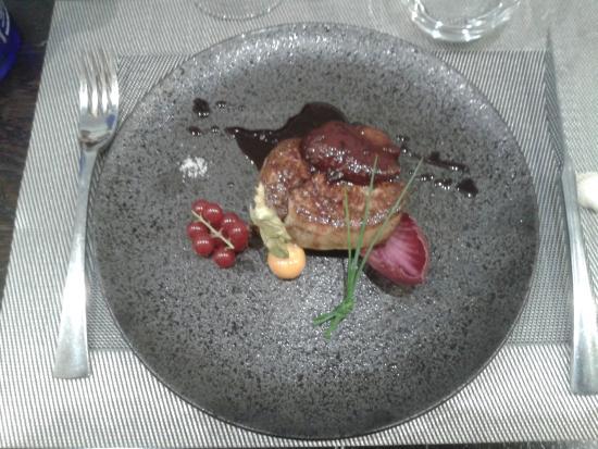 Auberge de la Marine : foie gras poelé