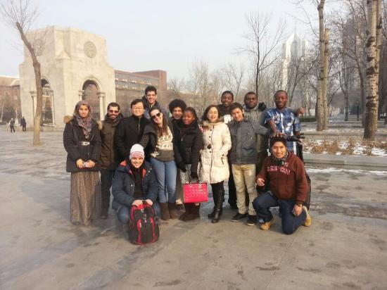 Tianjin University : Chinese Teachers and classmates