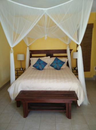 Flamingo Hotel : queen bed