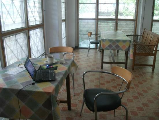 The Riverline Guest House: WiFi area