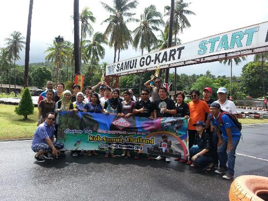 Samui Go Kart : Hello Malaysia