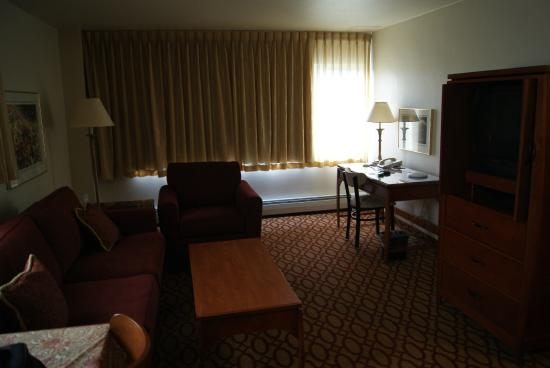 Anchorage Grand Hotel: sala