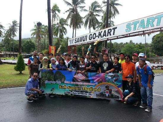 Samui Go Kart: Hello Malaysia