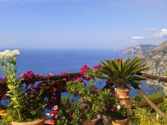 Casa Cuccaro B&B: View from the breakfast terrace