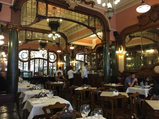 Muy bien conservado picture of cafe majestic porto tripadvisor - Belle epoque interiors ...