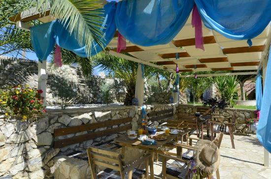 Gea Villas Lefkada: Gea Villas garden