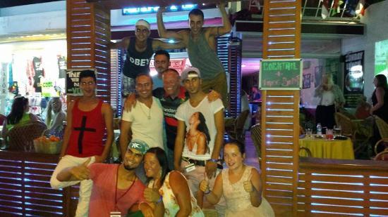 Babylon's restaurant: family fun with staff