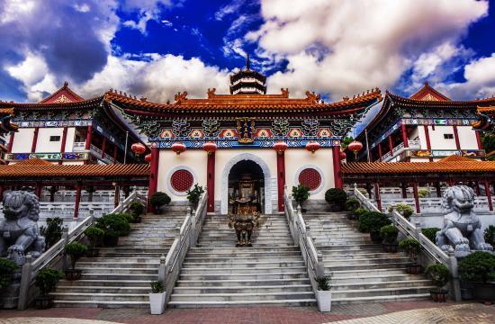 Yuen Yuen Institute : Western Monastery