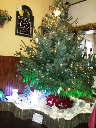 La Taverne: Les décorations de Noël