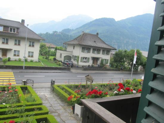 Hotel Chalet Swiss: View of the mountains