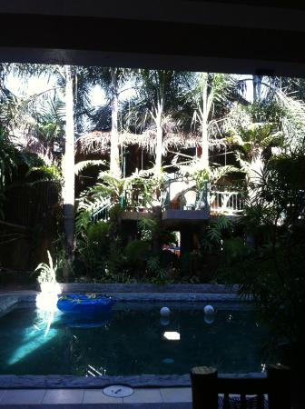 Mb's: taken from poolside