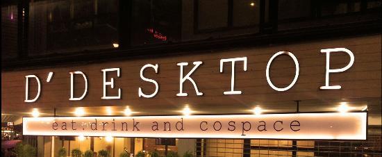 D' Desktop Eat. Drink and Cospace