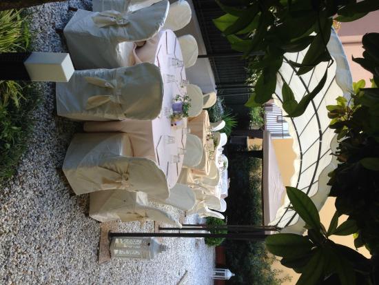 Metropole Hotel: Garden per cerimonie