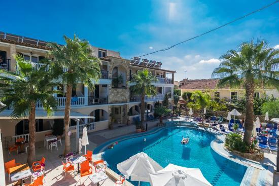Zante Plaza Hotel Amp Apartments Laganas Greece Reviews