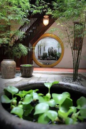 1881 تشوج تيان هوتل: Courtyard