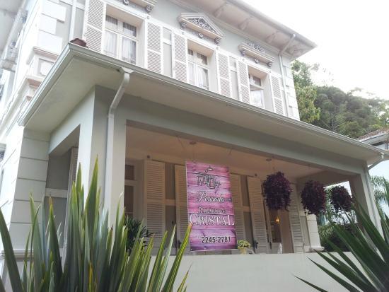 Pousada Palacio de Cristal: Frente do Hotel