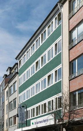 City Appartements Regence: Außenansicht