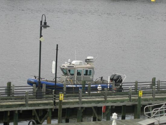 Cape Fear River: the police vessel