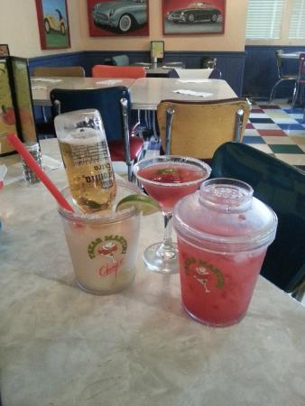 Chuy's Restaurant : Now that's a martini!