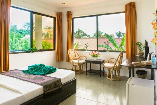 Green Village Angkor Hotel: Deluxe double room