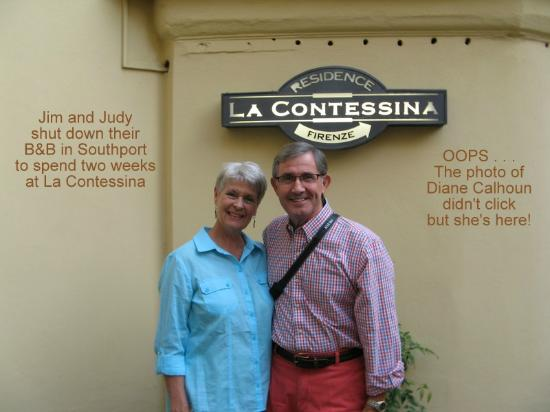 Residence La Contessina: Welcome!  Our First Day in Florence