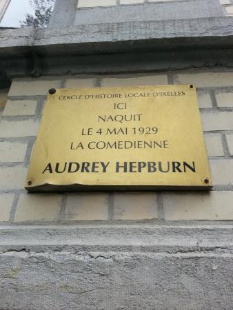Birth Place of Audrey Hepburn