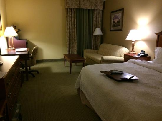 Hampton Inn Charleston - Historic District: Accessible king bedroom on 4th floor
