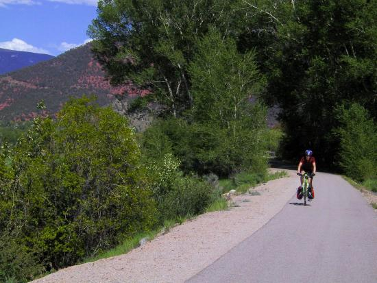 Rio Grande Trail: About halfway between Carbondale and Aspen
