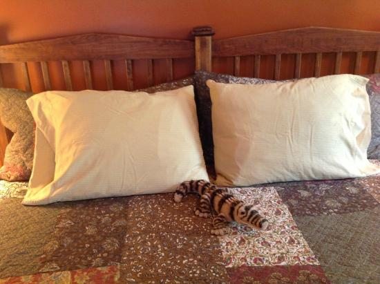 The Australian Walkabout Inn Bed & Breakfast: one of the whimsical touches in the Victoria Suite