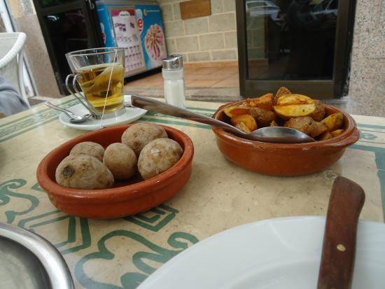 La Rambla: patata and potatoe with herbs