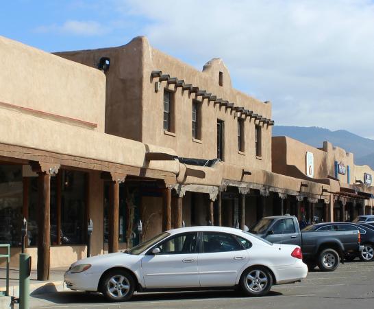 Old County Courthouse, Taos Plaza, Taos, NM Nov 2014