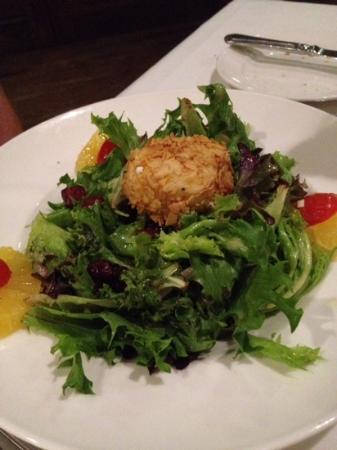 Josef's Table : goat cheese salad
