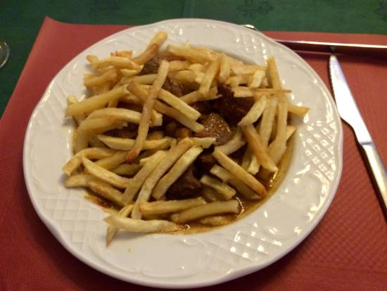 Agustin y Rosa: Carne con patatas