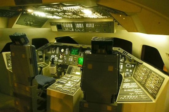 Hong Kong Space Museum: Space Shuttle Simulatin Room