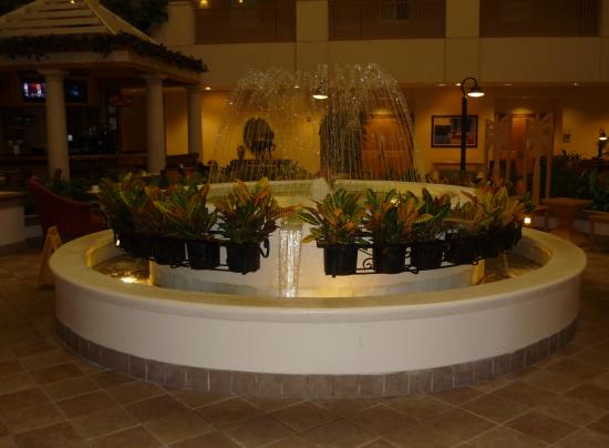 Embassy Suites by Hilton Orlando Airport : Fouintain in Dining area