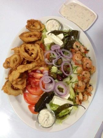 Mezze grec plat de soir photo de la table de marianne rio san juan tripadvisor - Restaurant la table du grec ...